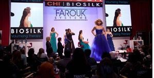 """Farouk Systems took its """"Turn Up the Volume"""" campaign to America's Beauty Show."""