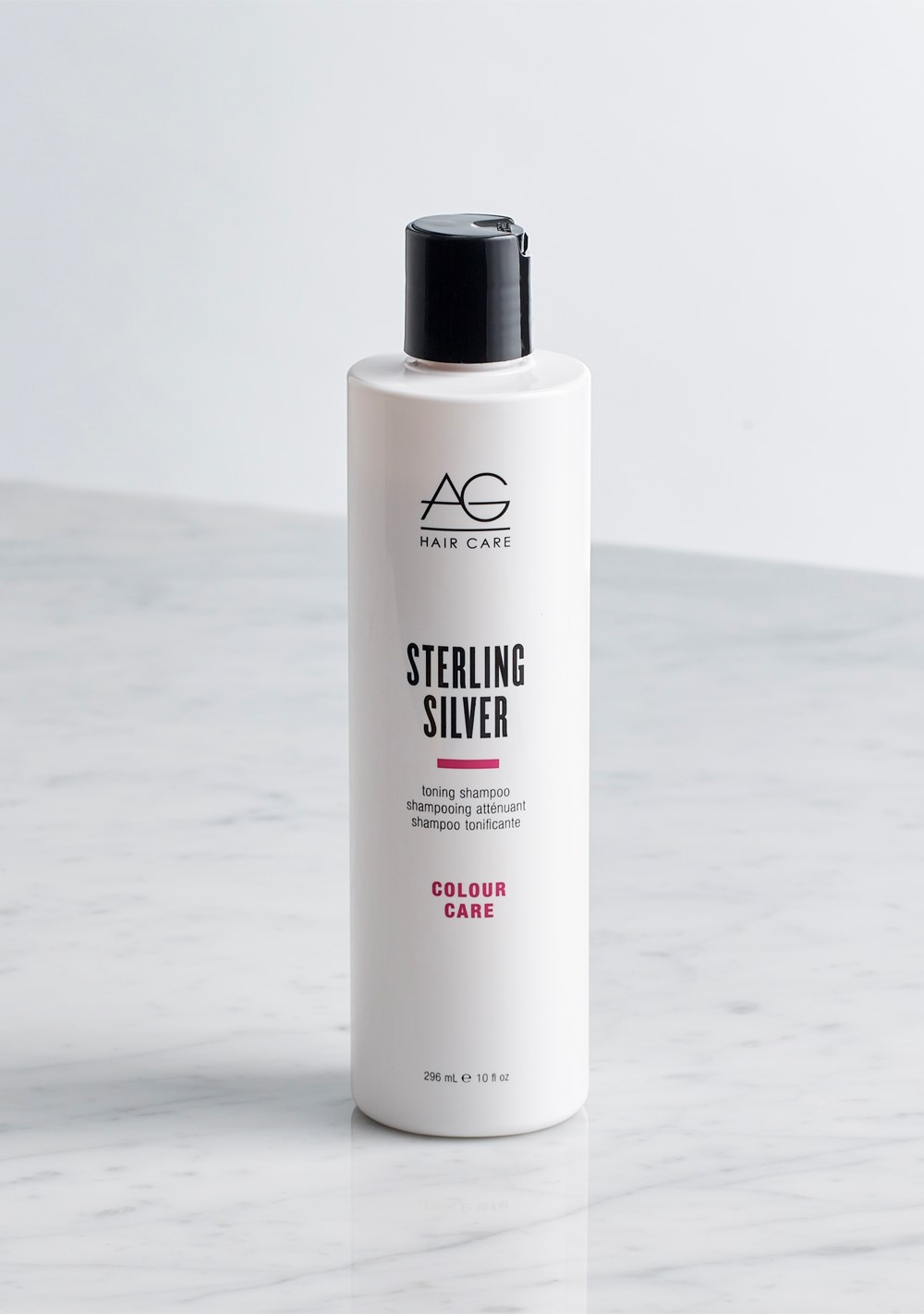 AG Hair's Sterling Silver Toning Shampoo and Conditioner Take Clients from Brassy to Bright