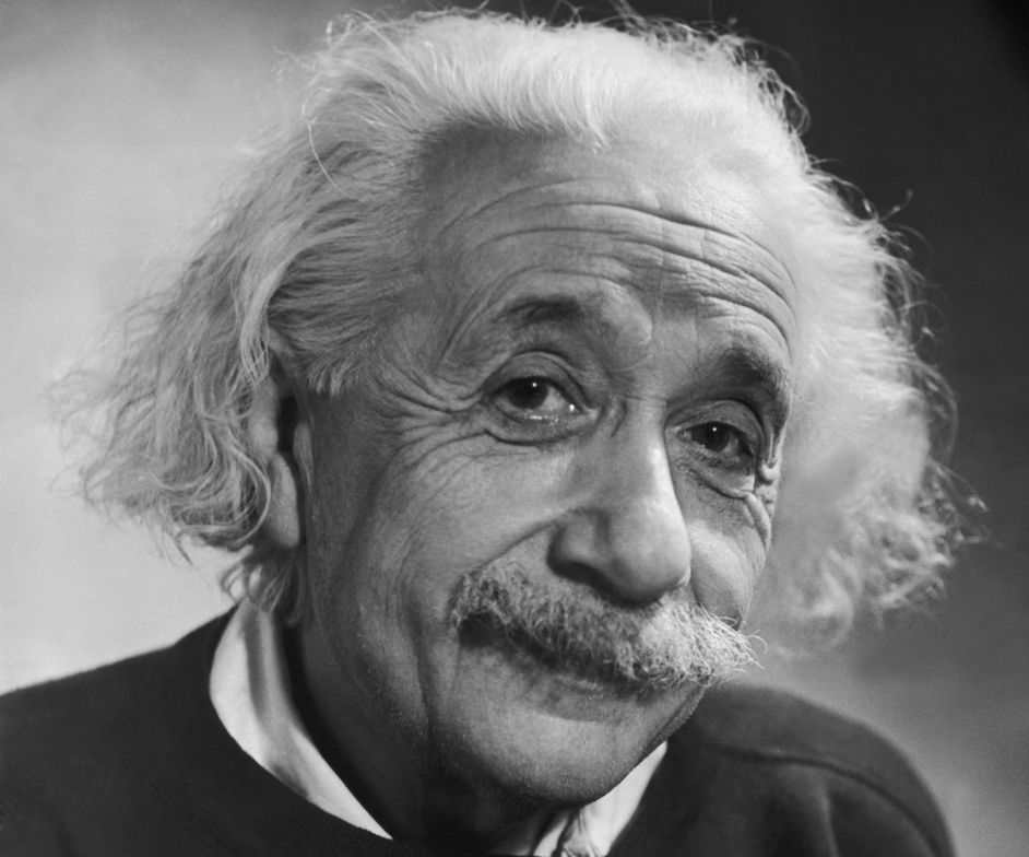 Albert Einstein had a moustache for more than 50 years.