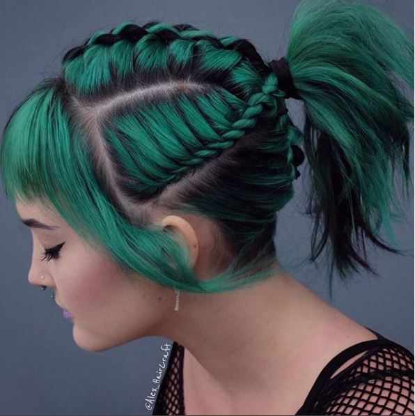 This style from @alex_haircraft was our most-liked post of the week; it has more than 7,700 likes.
