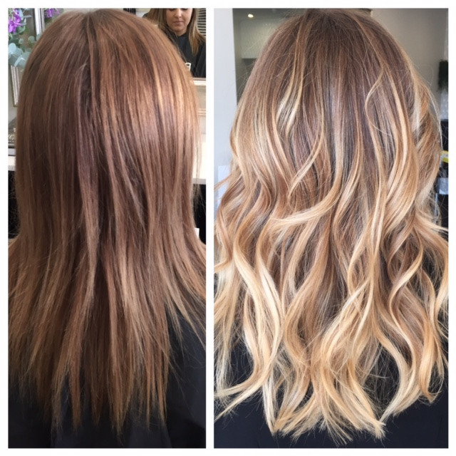 TRANSFORMATION: Block Color To Dimensional Blonde