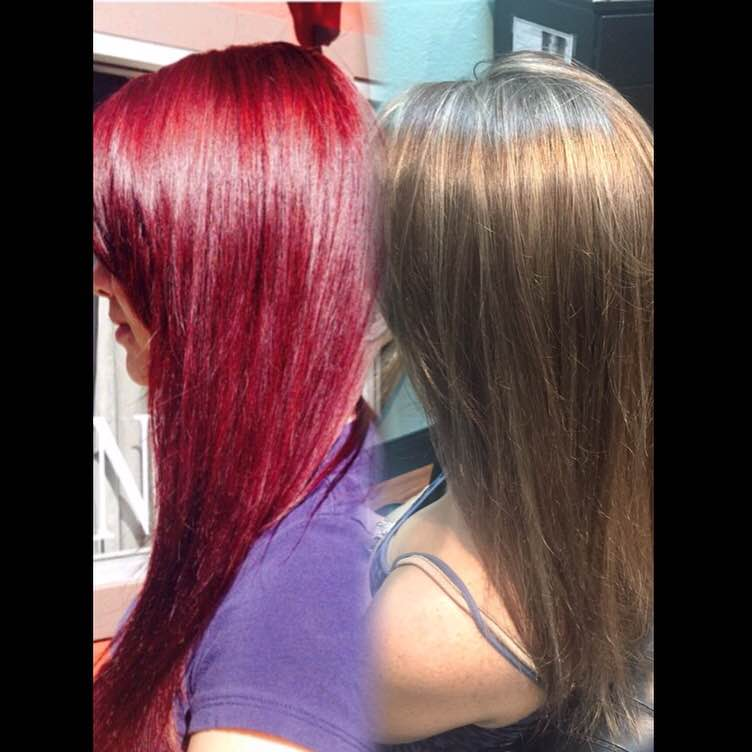 TRANSFORMATION: It CAN Happen! Getting Your Client to Her Desired Red Haircolor