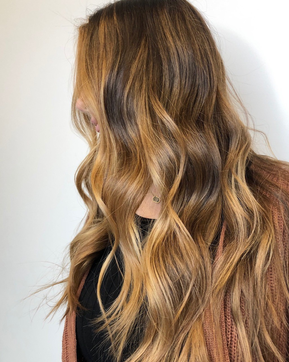 """Love the consistency of L'anza's Clay Decolorizer so much,"" Valsamis writes on Instagram. ""And it lifts beautifully!"""