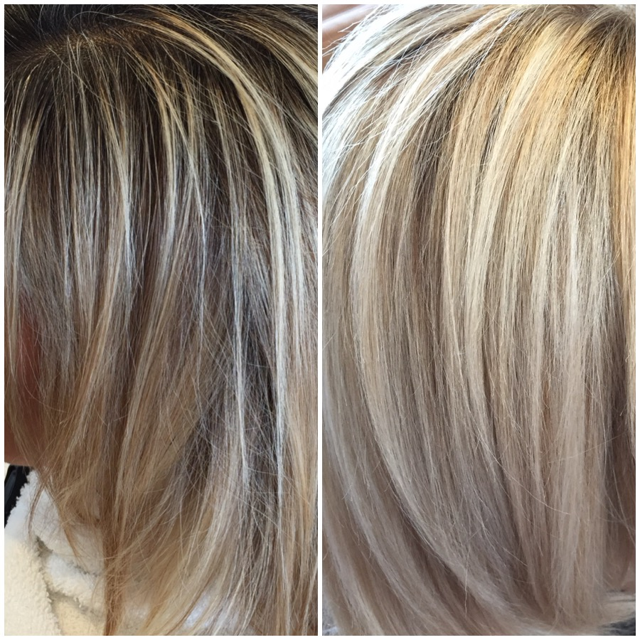 Brightened With Balayage