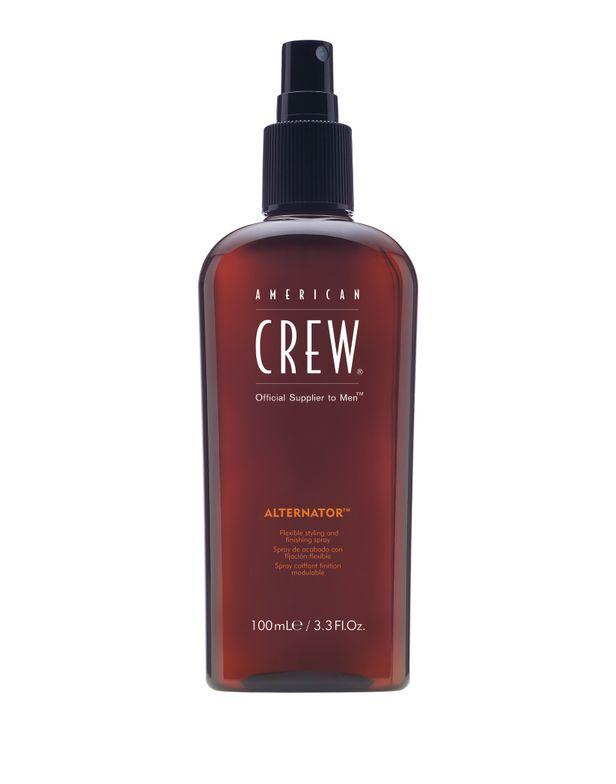 "Alternator spray allows guys to enjoy ""hands-free"" styling."