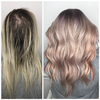 Tips for Applying Metallic Hair Color