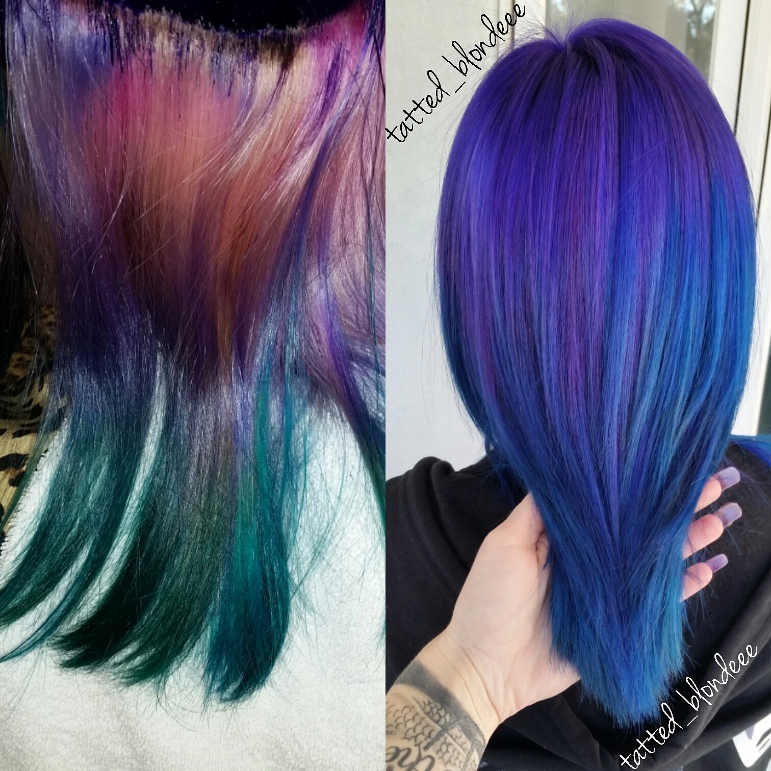 TRANSFORMATION: Faded Fun To Purple/Blue Melt