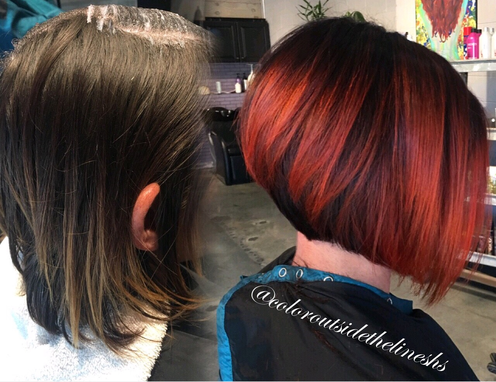 MAKEOVER: Time For A Fresh Red Bob