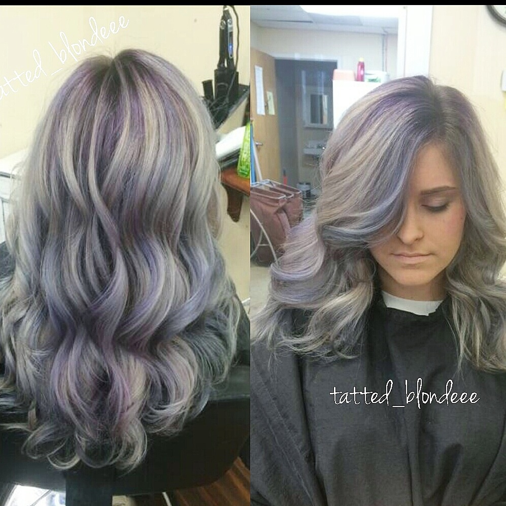 FORMULA: Colormelting Silver and Blue