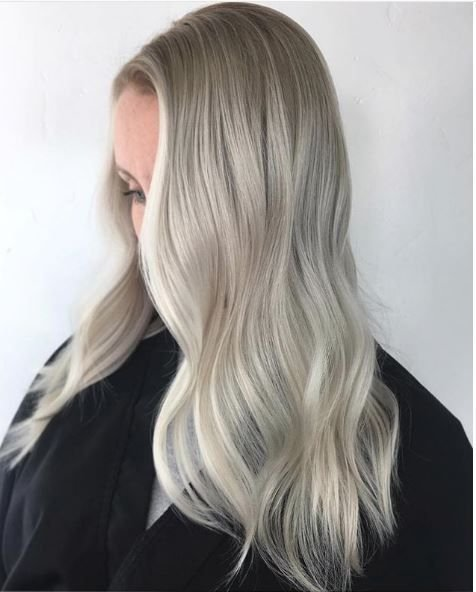 Bold wave. Bold Highlight. Love it, @amburgerofhair.