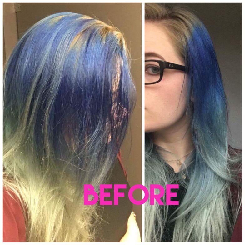 After a little DIY color