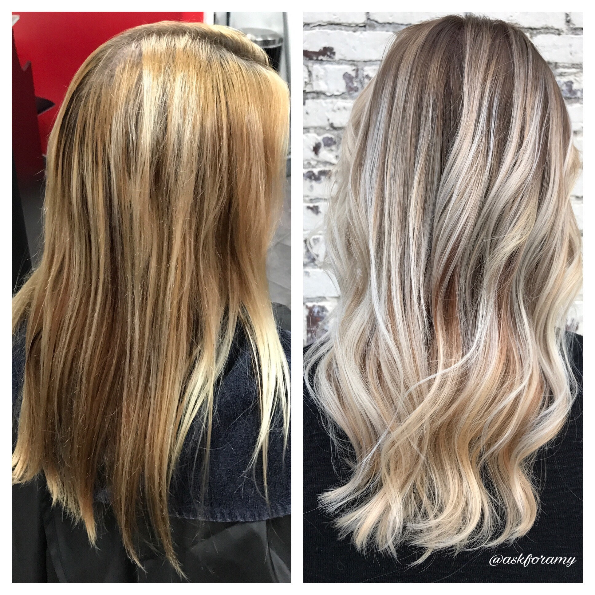 COLOR CORRECTION: Bright Blonde Balayage - Color - Modern Salon