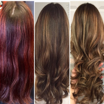 TRANSFORMATION: Faded Red To The Perfect Sombre