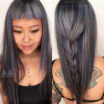 Stormy Blue-Grey by Anastasia Amico