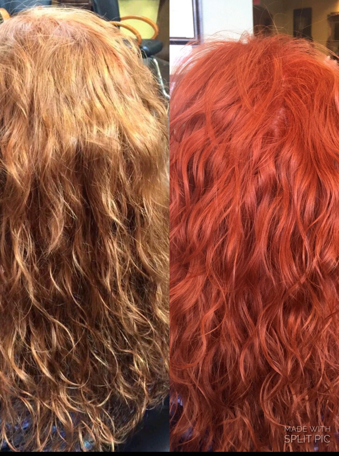 Makeover: Color Update From Faded Strawberry To Bright Copper