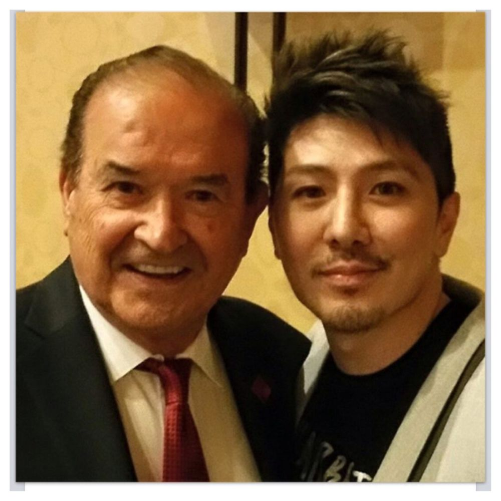 Andre Nizetich President of ABCH with Hair Artist and Special Guest Guy Tang