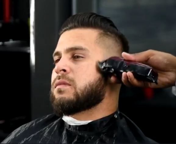 Rosario likes doing skin fades the best - it's the cut that best represents his work.