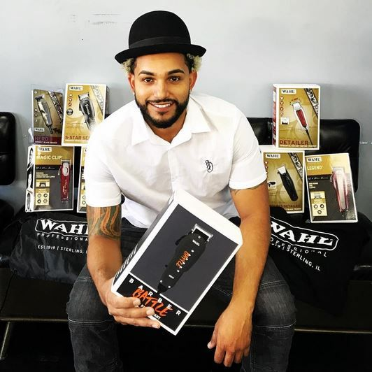 <strong>Andrew Rosario</strong> of <strong>Dapper Barbershop</strong> in Greenacres, Florida, won 2nd place in Wahl's Online Barber Battle.