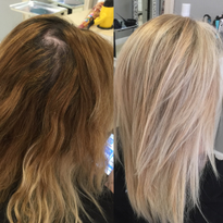 COLOR CORRECTION: Going Going Blonder