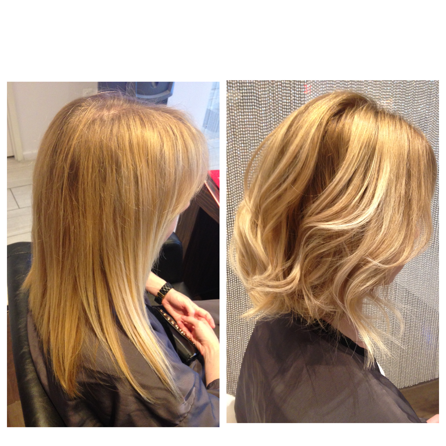 TRANSFORMATION: Solid Blonde To Balayage Dimension