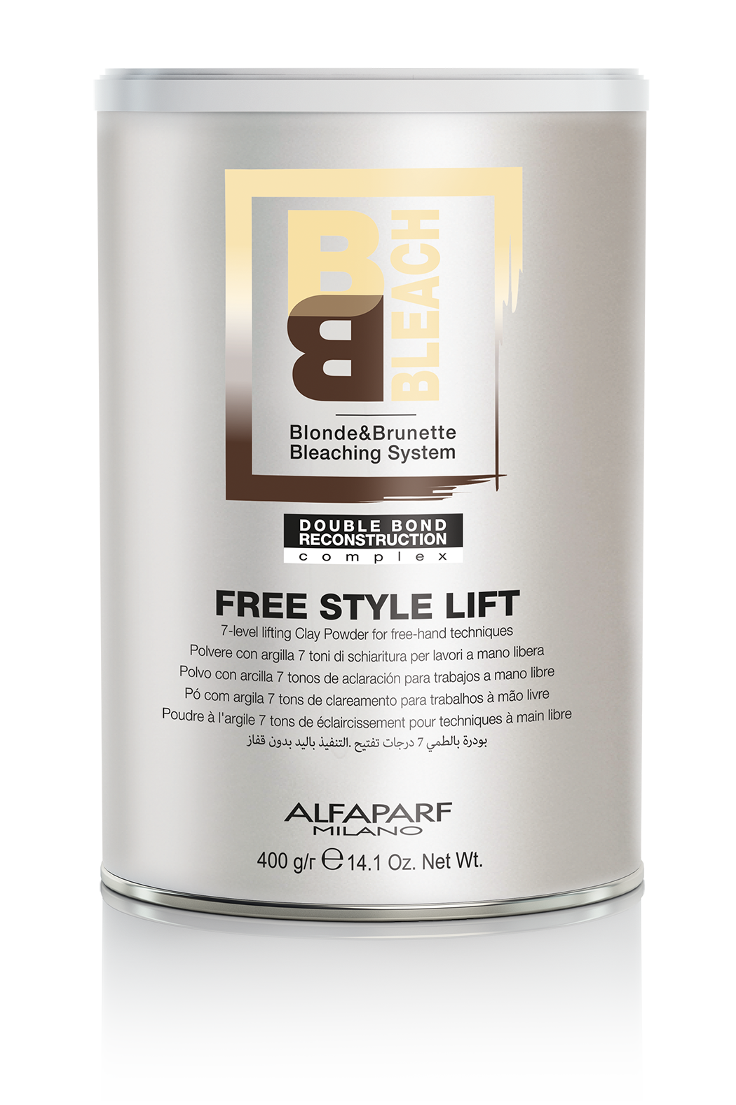 Brighten Up with Alfaparf's BB Bleach Free Style Lift