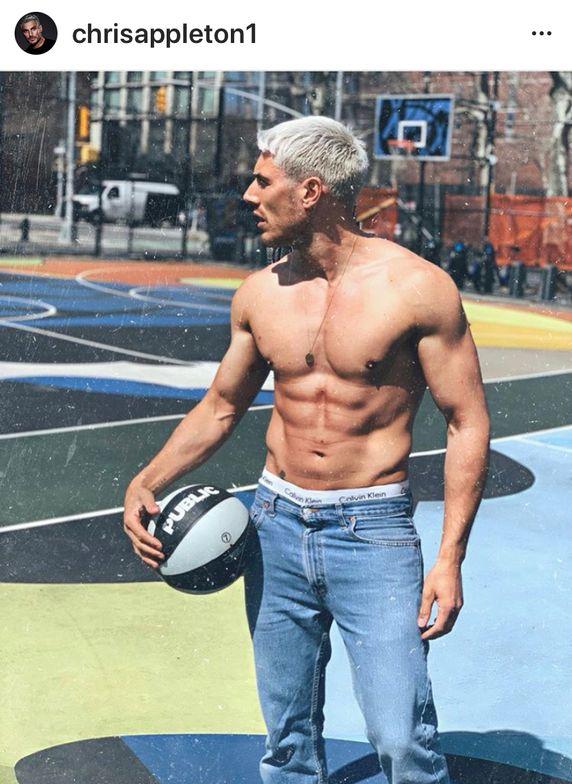 Chris Appleton - keeping fit.