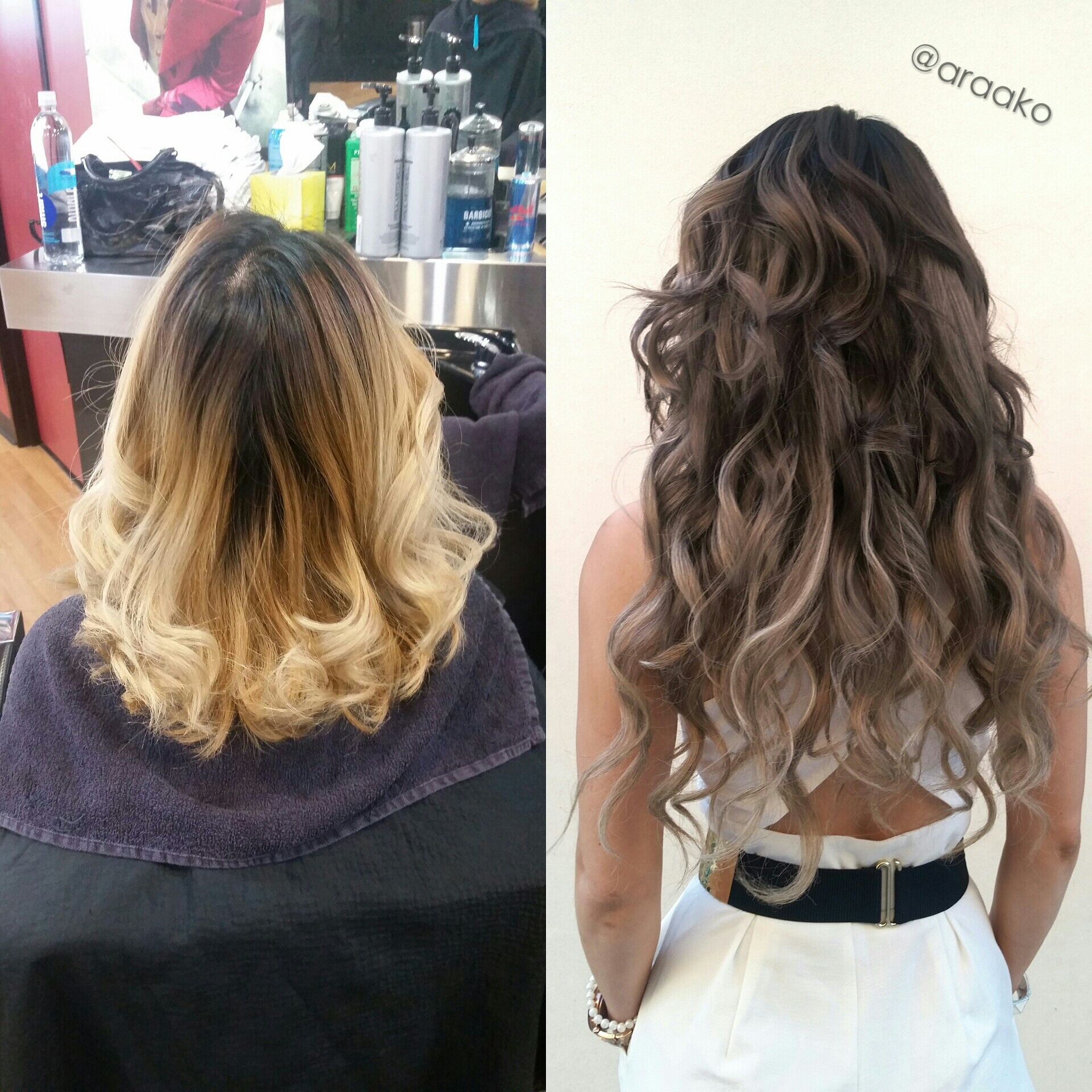 TRANSFORMATION: Date Night Hair