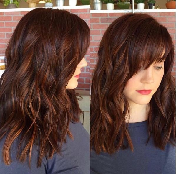 Spicy Auburn Color with Dimension and Shine - Color - Modern Salon