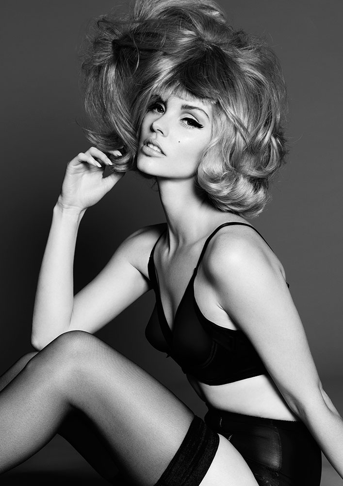 COLLECTION: Structured Yet Wild 'Supermodel' Hair by Frank Apostolopoulos