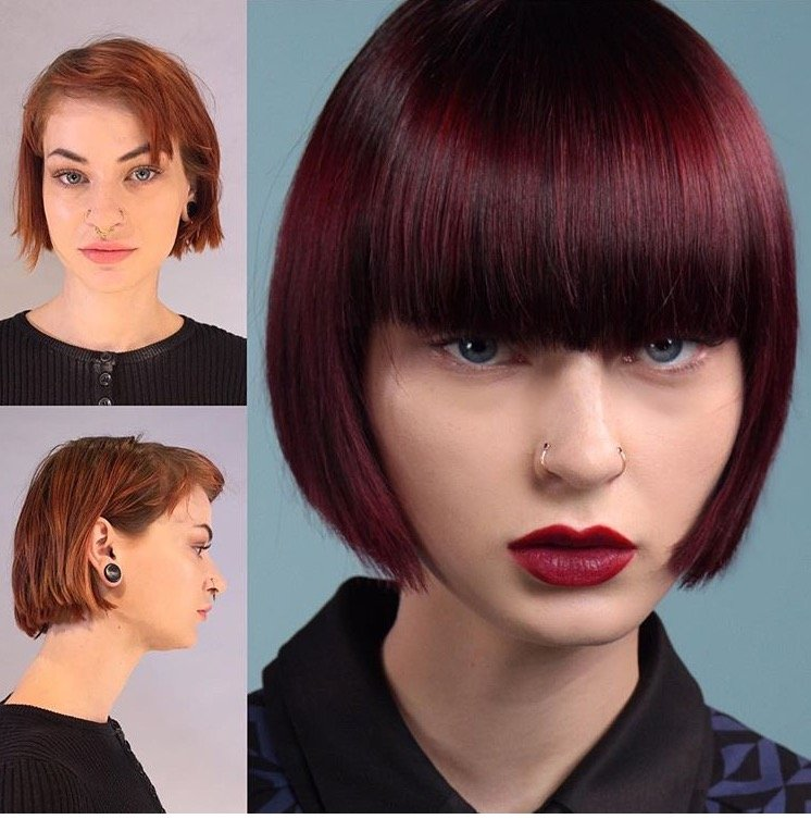 Dramatic Cherry with Aveda Formula