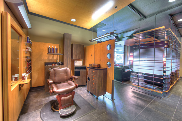 Aveda partners with chain of men's salons