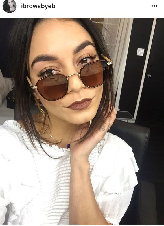<p>Via @ibrowsbyeb. No Coachella is complete without the festival muse herself, Vanessa Hudgens. And on-fleek brows by Erin Bryant don't hurt.</p>