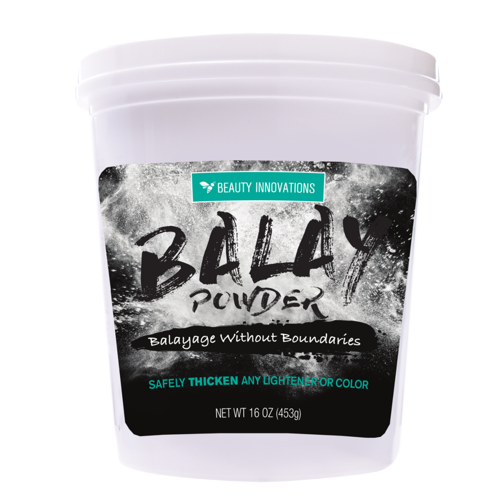 Balay Powder thickens any color or lightening formula to create the ideal consistency for balayage and free-hand painting.