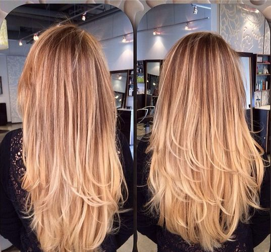 SOMBRE HOW TO: A Soft Ombre Created With Balayage