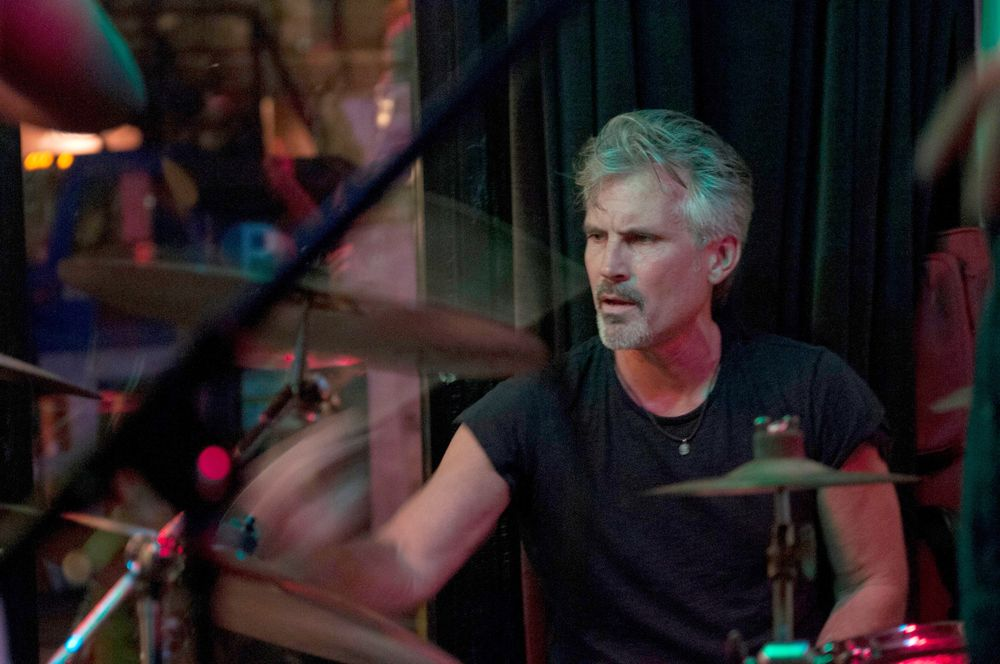 """Vaughn Acord's passion is drumming. <div class=""""page"""" title=""""Page 1""""> <div class=""""section""""> <div class=""""layoutArea""""> <div class=""""column""""> <p>""""Life has a rhythm to it, I hear it all the time. Blow dryers are music to me.""""</p> </div> </div> </div> </div>"""