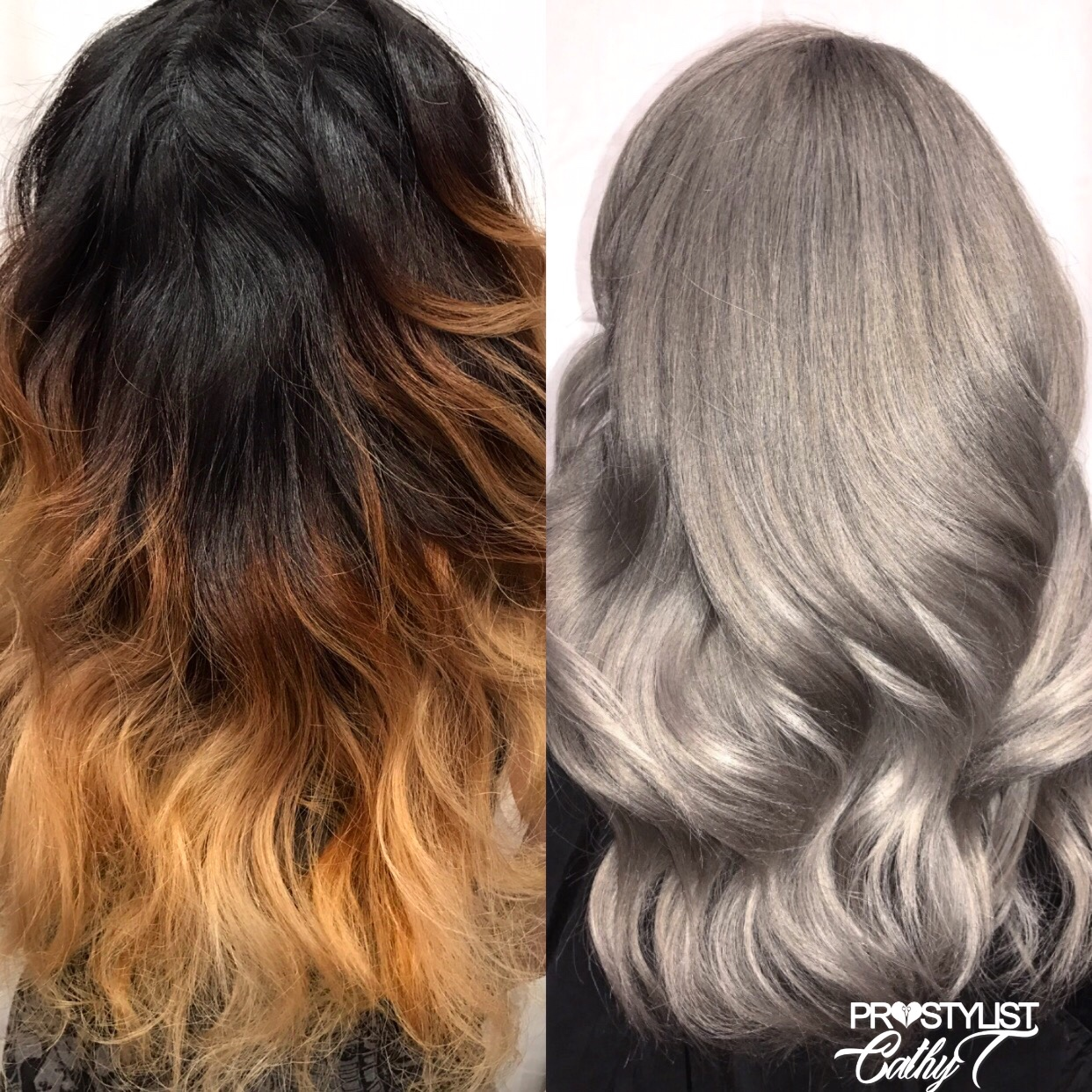 Color Correction: Over-Processed and Uneven to Shining Finish