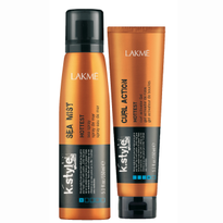 Lakme USA k.style Hottest Beach Waves for Days Product Duo