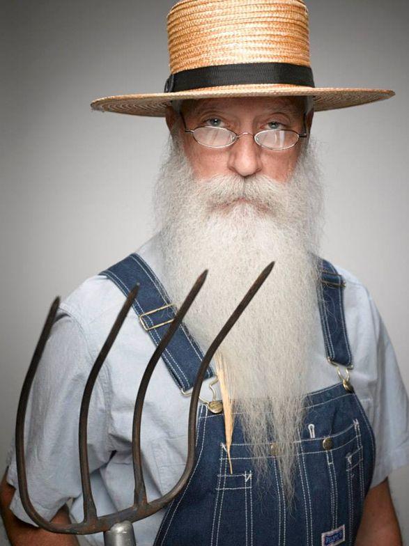 Isaiah Webb's beard swaying in the wind...