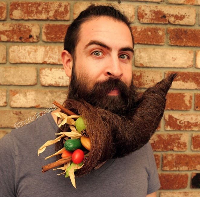Who knew you could fit that much foodstuff into one bearducopia!?