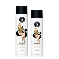 Rewind Damage with Beauty & Pin-Ups' New Rewind Reconstructing Shampoo and Conditioner