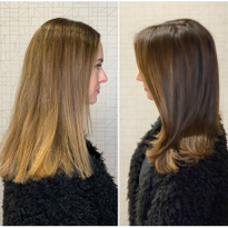 Color How-To: Faded Blonde Highlights to Rich, Chocolate Brunette Ribbons