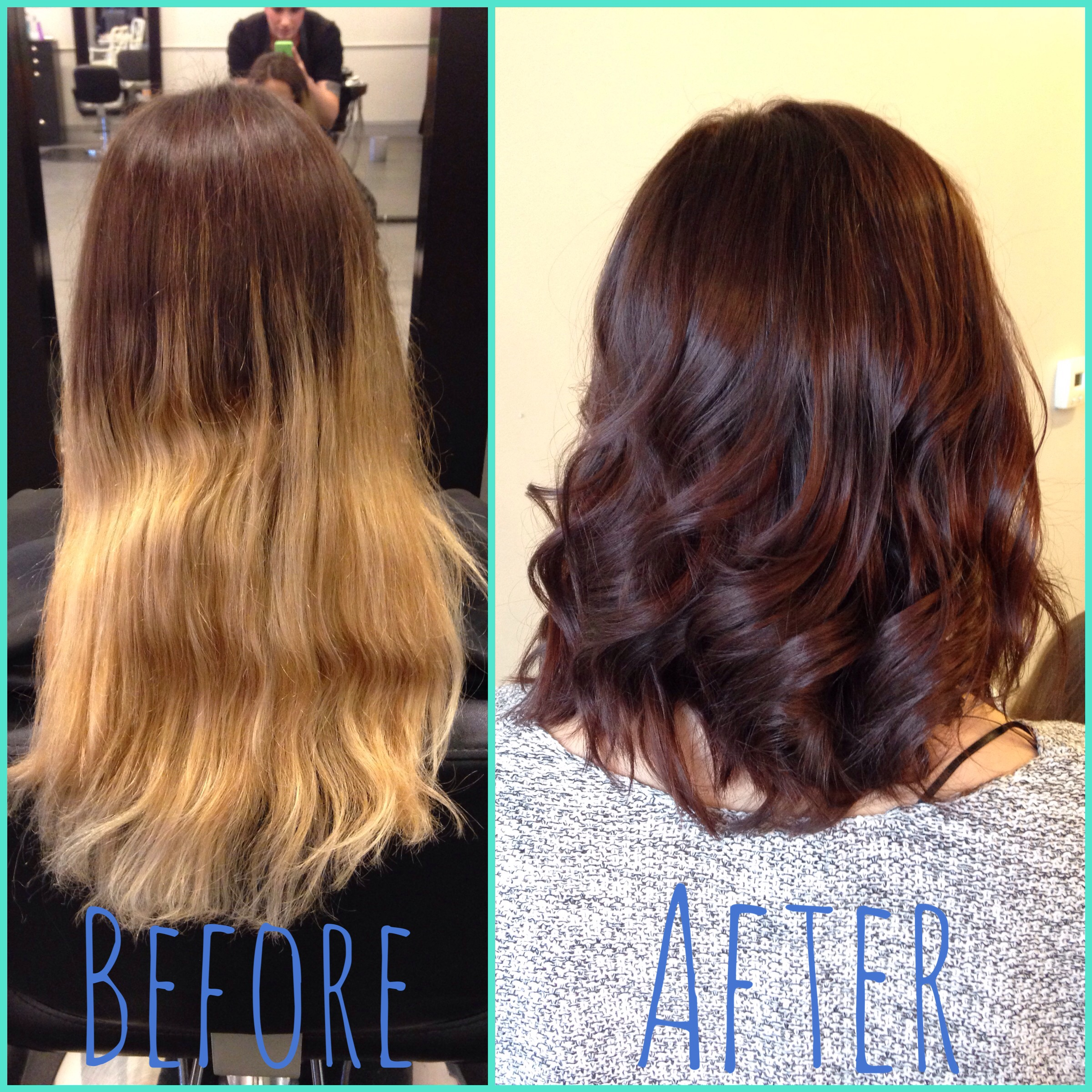 TRANSFORMATION: Damaged Ombre To Pretty And Tasteful
