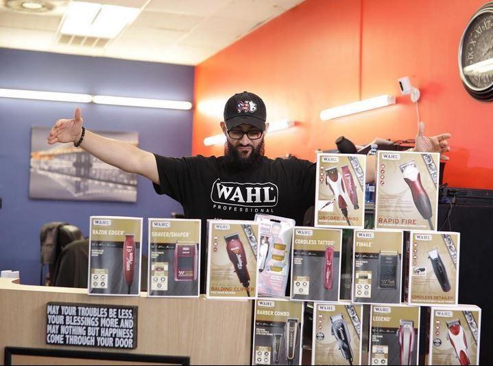Benny Macahdo, Grand Prize winner in Wahl's Online Barber Battle.
