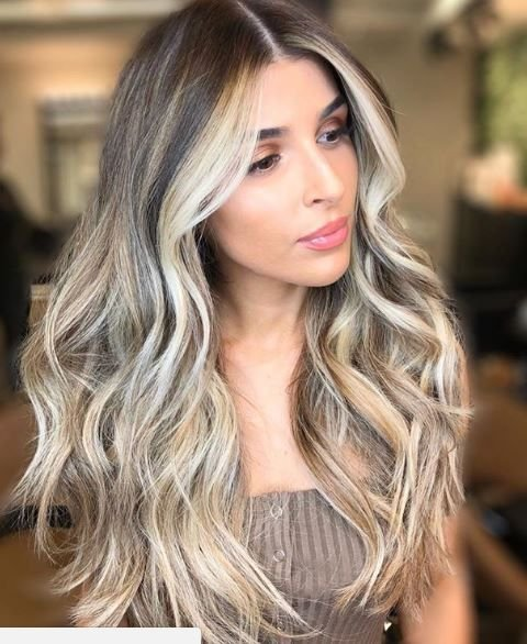 Ah that contrast between the rest of the roots and the money piece in this look by @bernardohairco is SO killer.