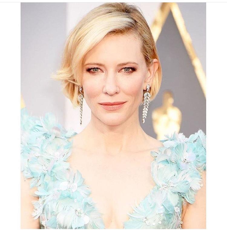 Oscars 2016: Cate Blanchett by Robert Vetica