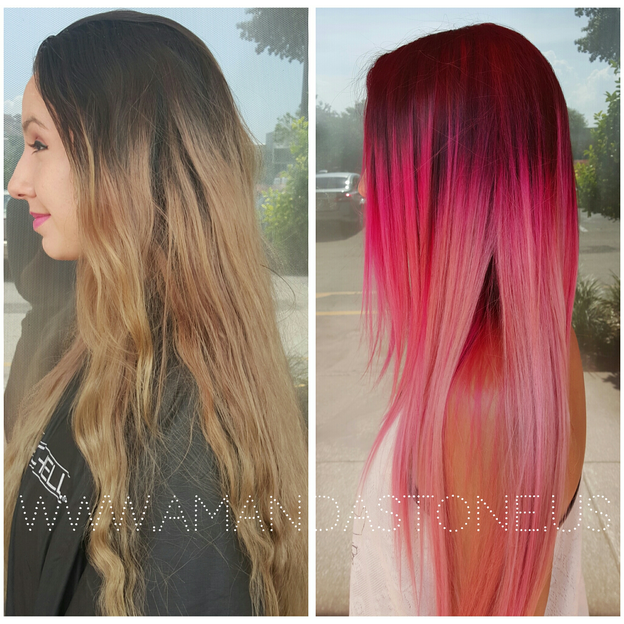 Bleeding Ombre