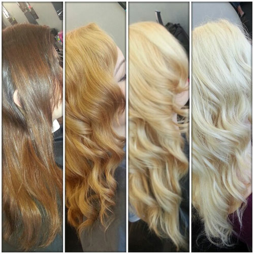 How To: Formula and Steps to Safely Go From Brunette to Blonde
