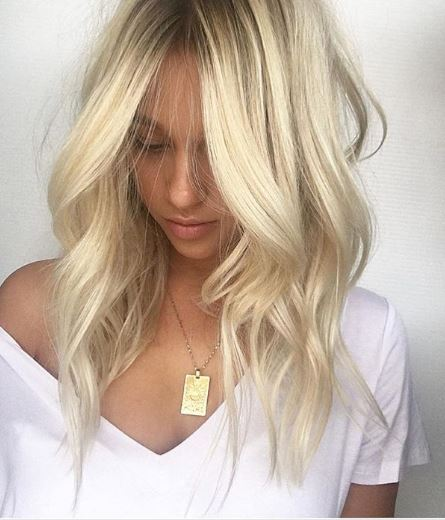 This gorgeous blonde was our most-liked photo this week! @chelseahaircutters