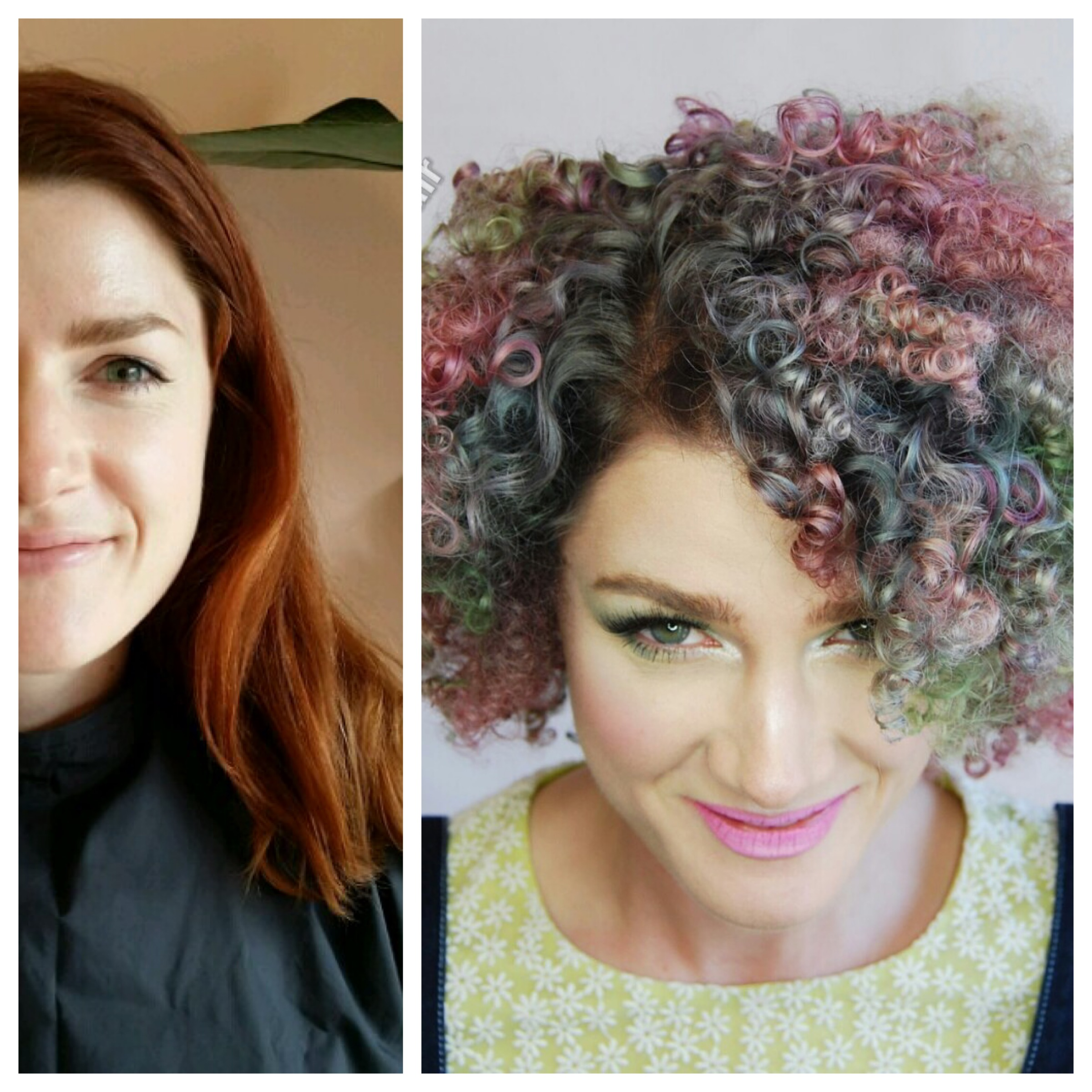 TRANSFORMATION: Copper To Dimensional Dusty Pastel