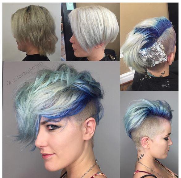 Haircolor and Cut Transformation